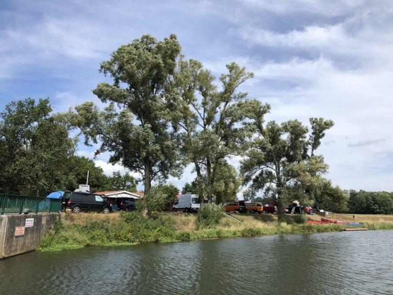 Campervan-Treffen an der Aller